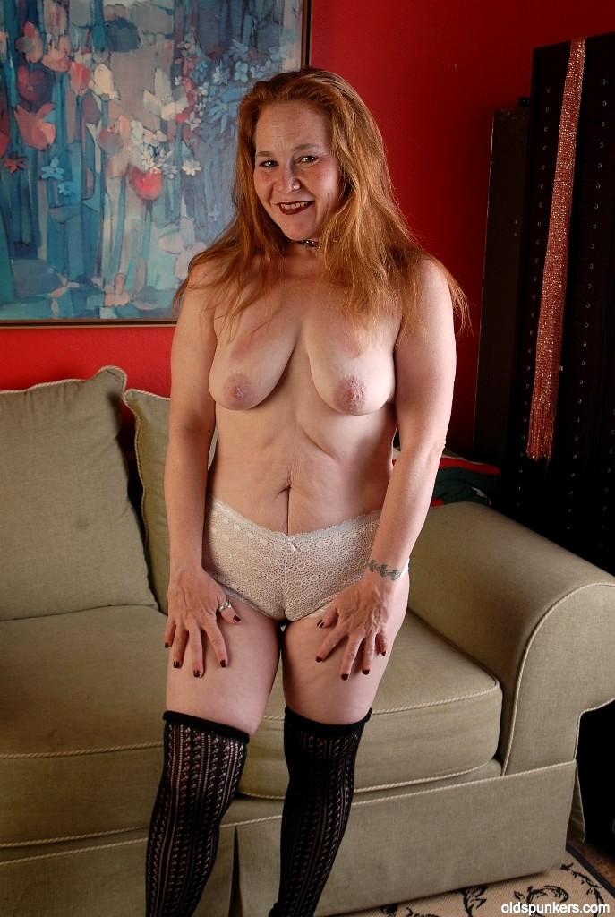 ASS spunk granny photo
