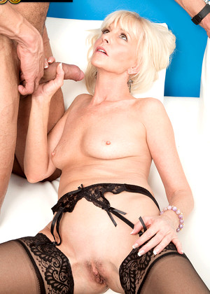 Deepthroat with lily and big white cock 2