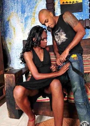 Black brazilian transsexual