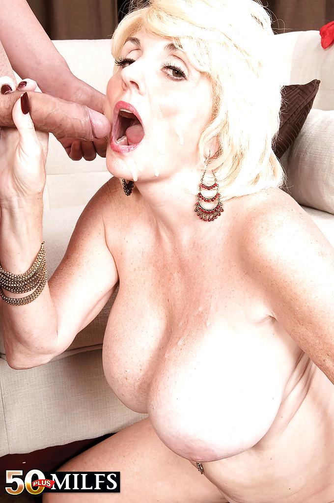 Blonde mature amateur thumbnail