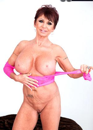 Grannies clit and tits