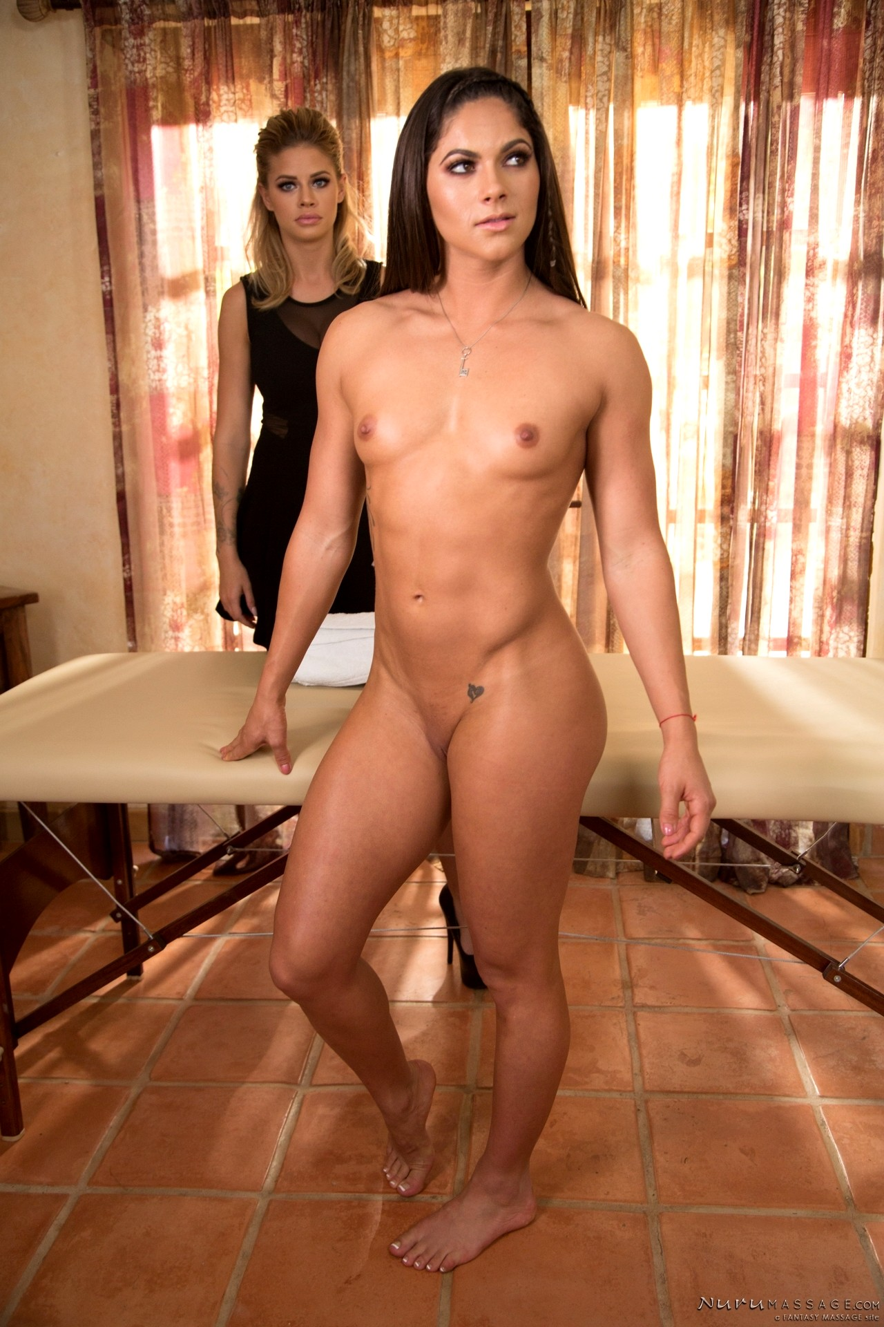 Eva angelina massage