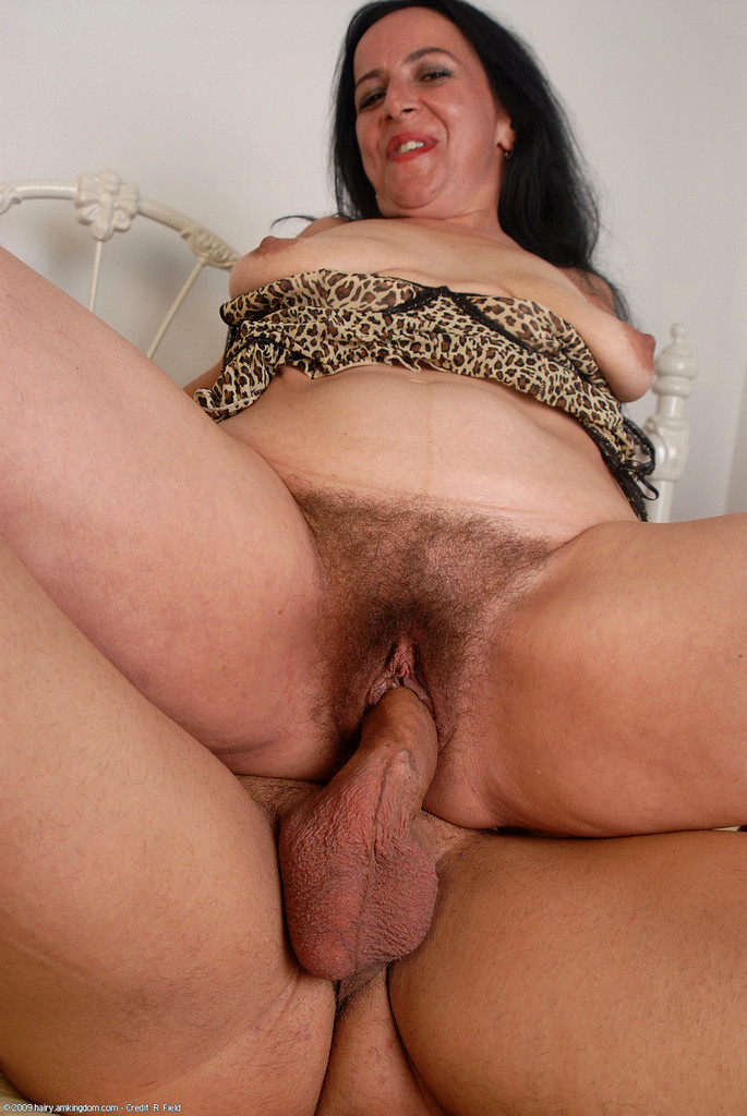 Swiss mature nina hairy
