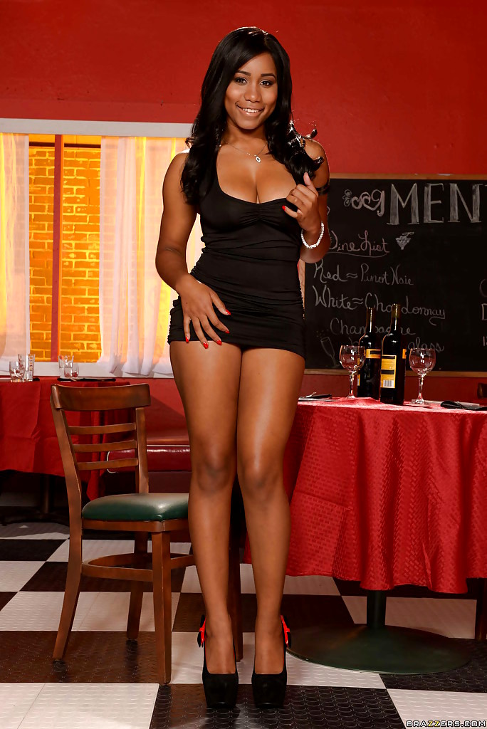 Ebony Dress Porn