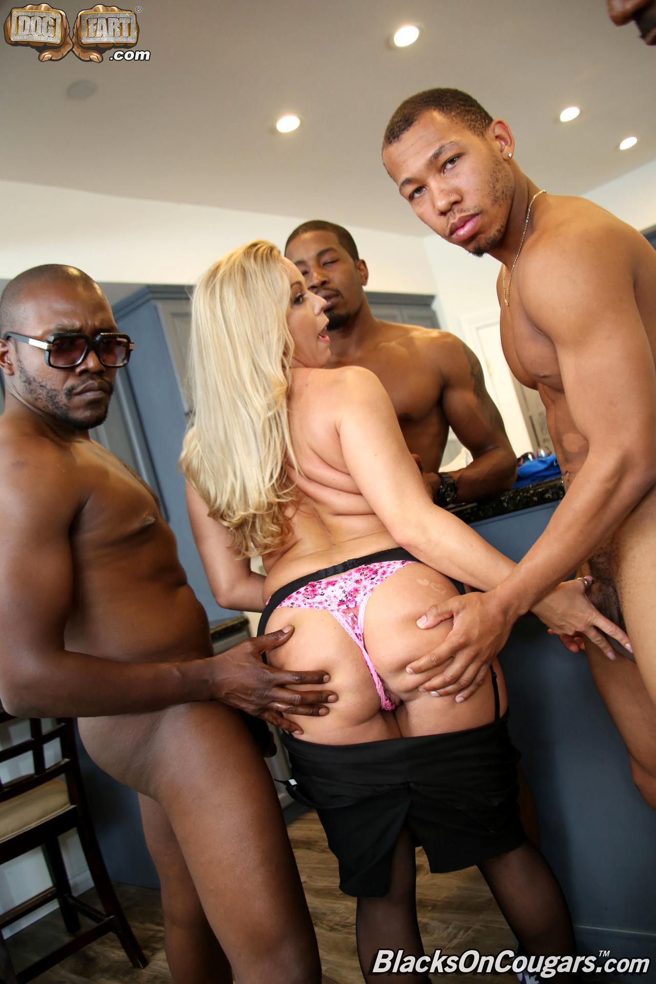 Amber lynn bach blacks on cougars