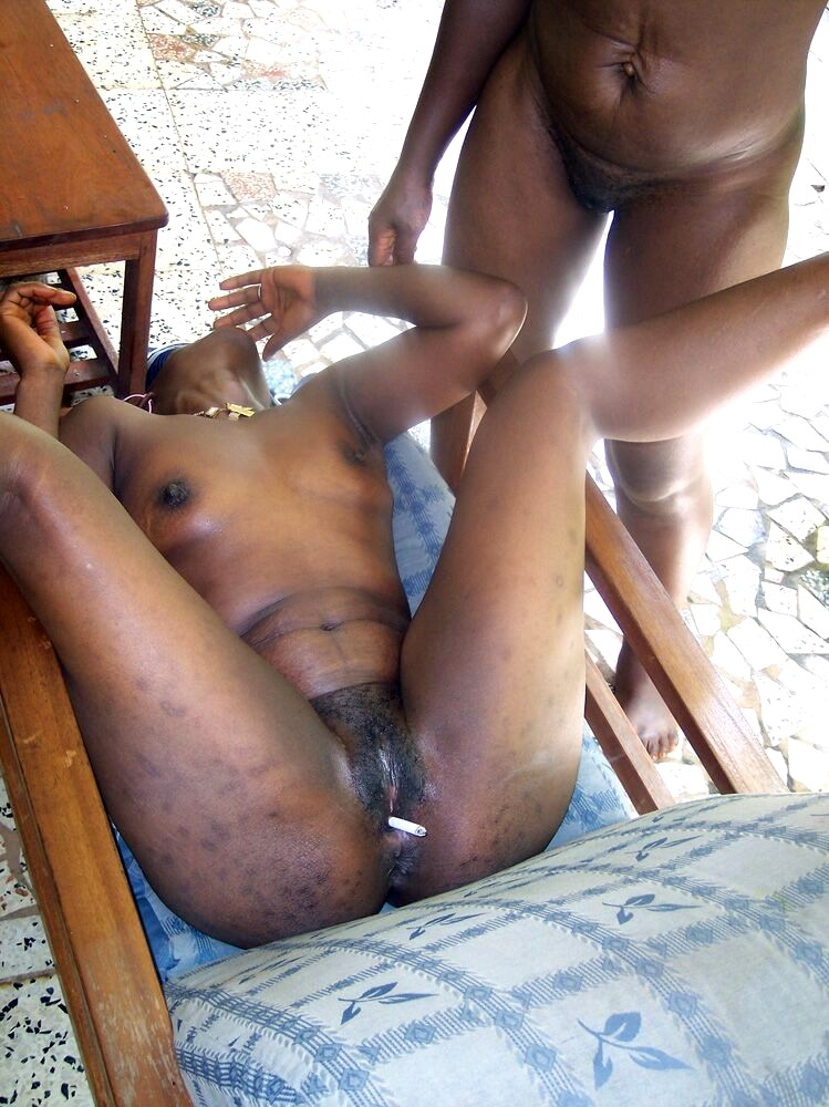 Ebony Black Teen Tube