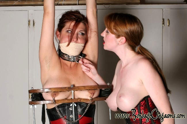 Claudine presents bondage orgasms