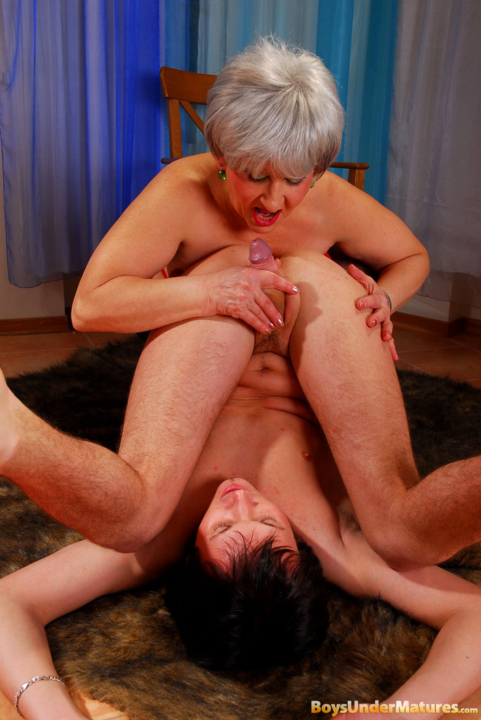 Mature Woman And Boy Porn