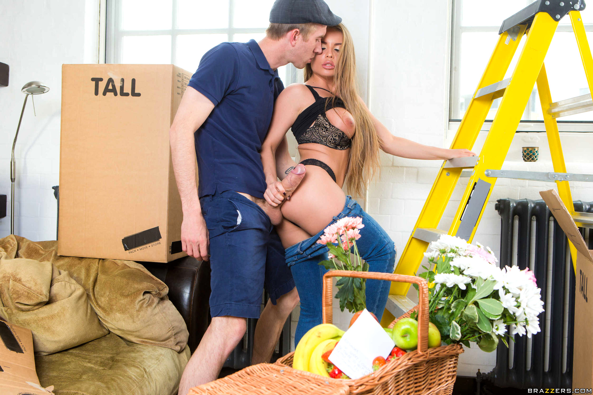 Babe Today Brazzers Network Alessandra Jane Exciting Jeans -9595