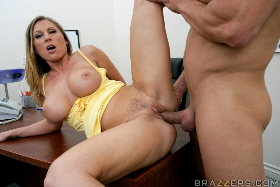 Blonde Devon Lee Fucking In The Living Room With Her Tits