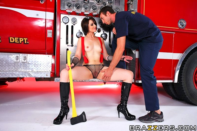 Muscle Firefighter Orgy