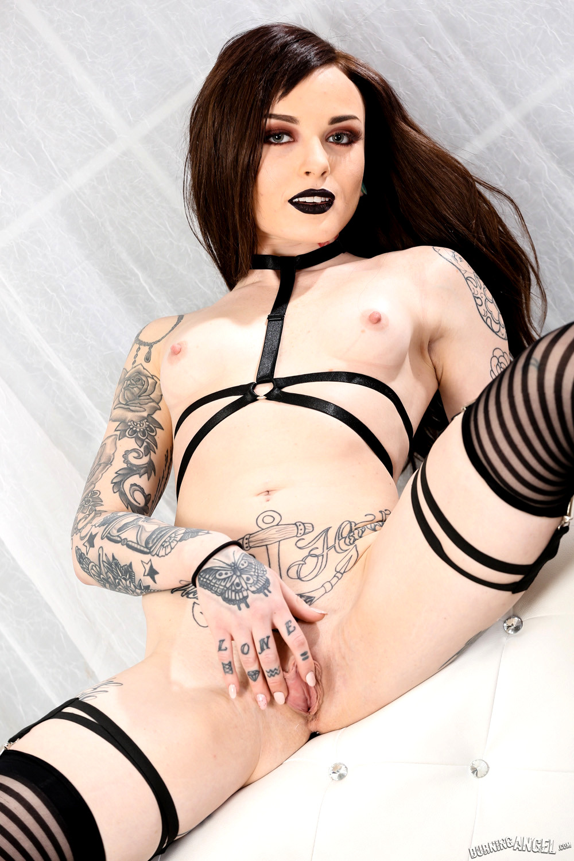 Goth orgasm