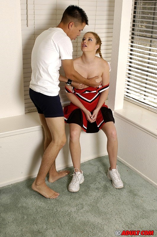 Babe Today Cheerleader Auditions Holly Ultimate Blowjob -3907