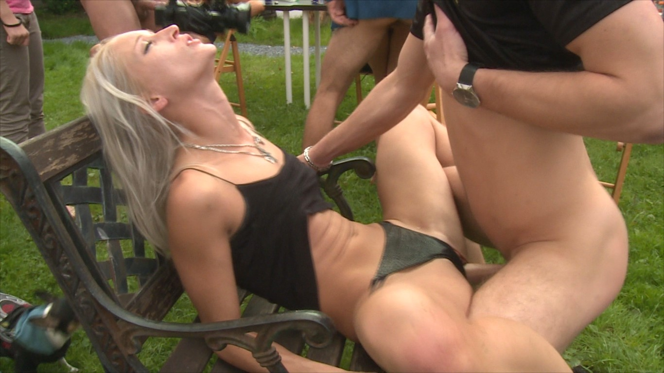 Outdoor orgy party-8582