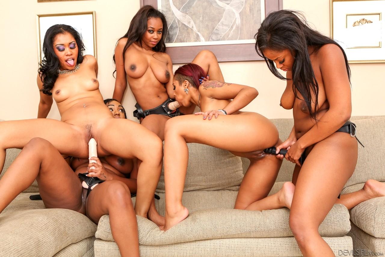 Free black lesbian women