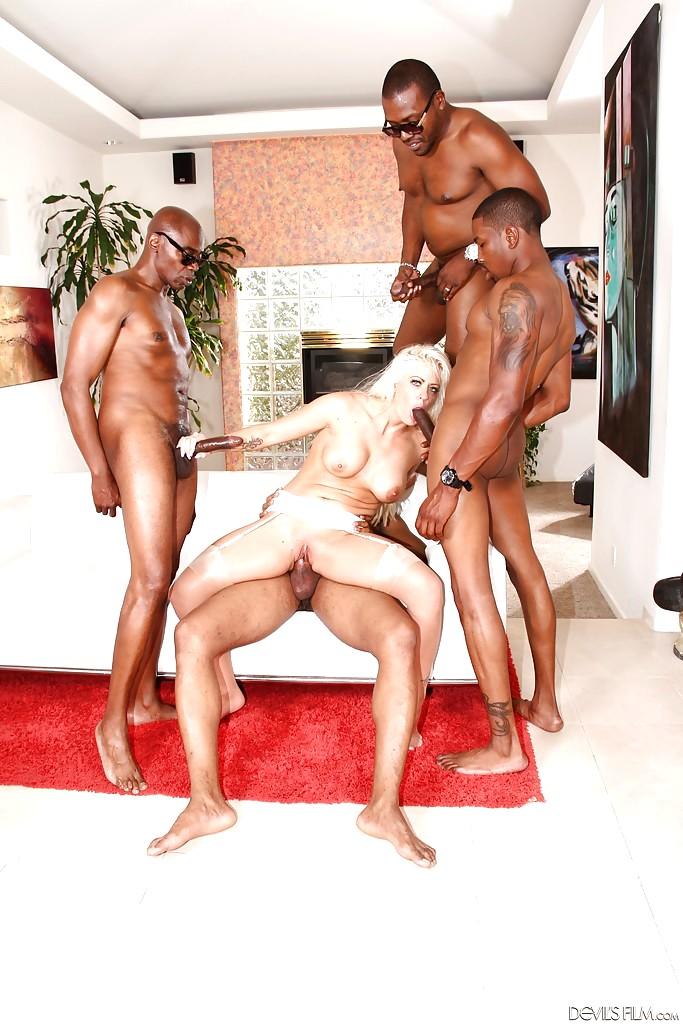 Holly dangelo interracial caught sucking cock