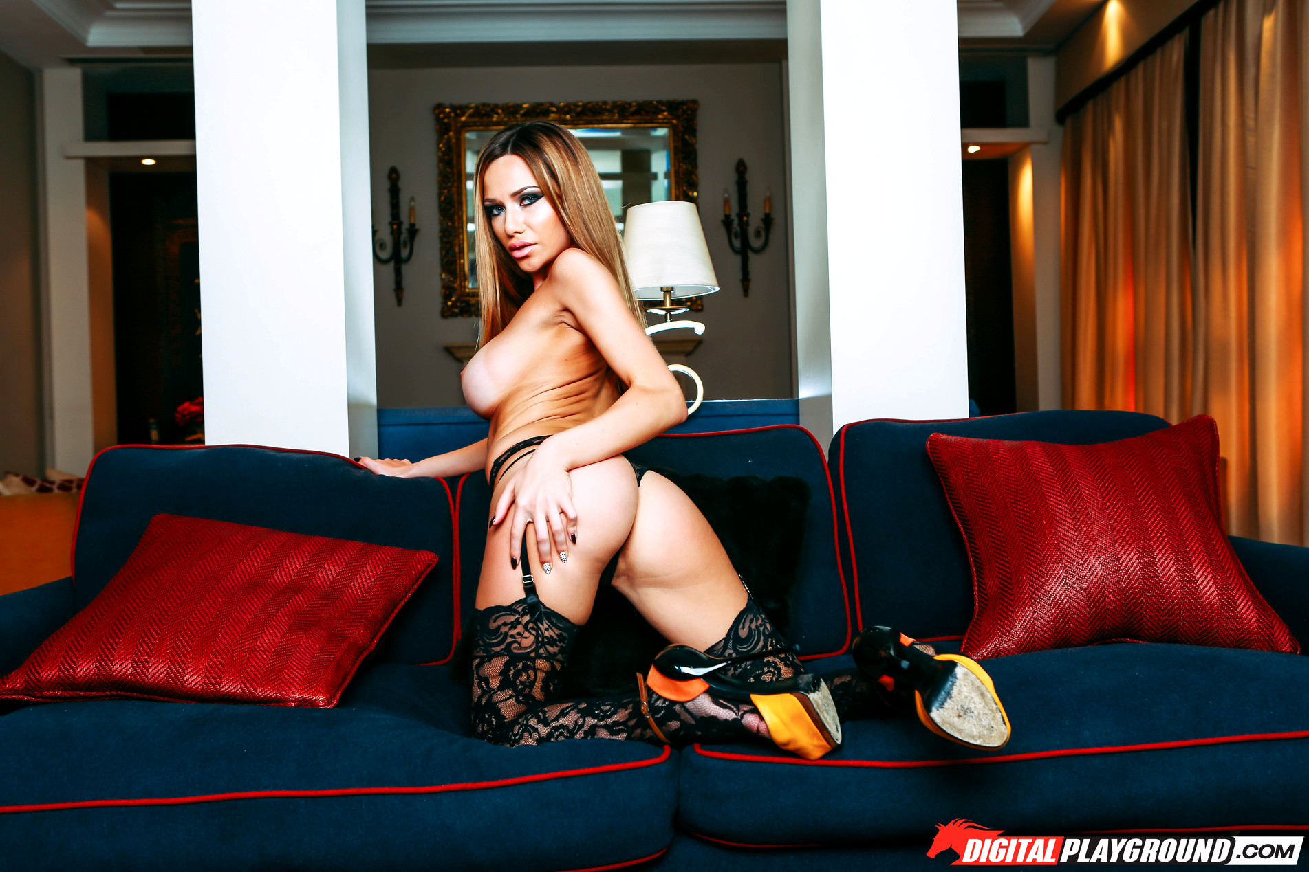 Stella cox lovely arches in air while she gets fucked 9