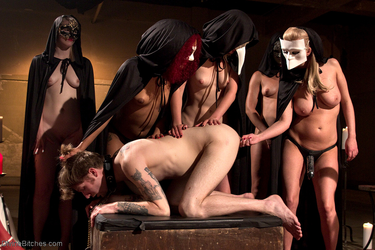 Satanic ritual BDSM sacrifice pics