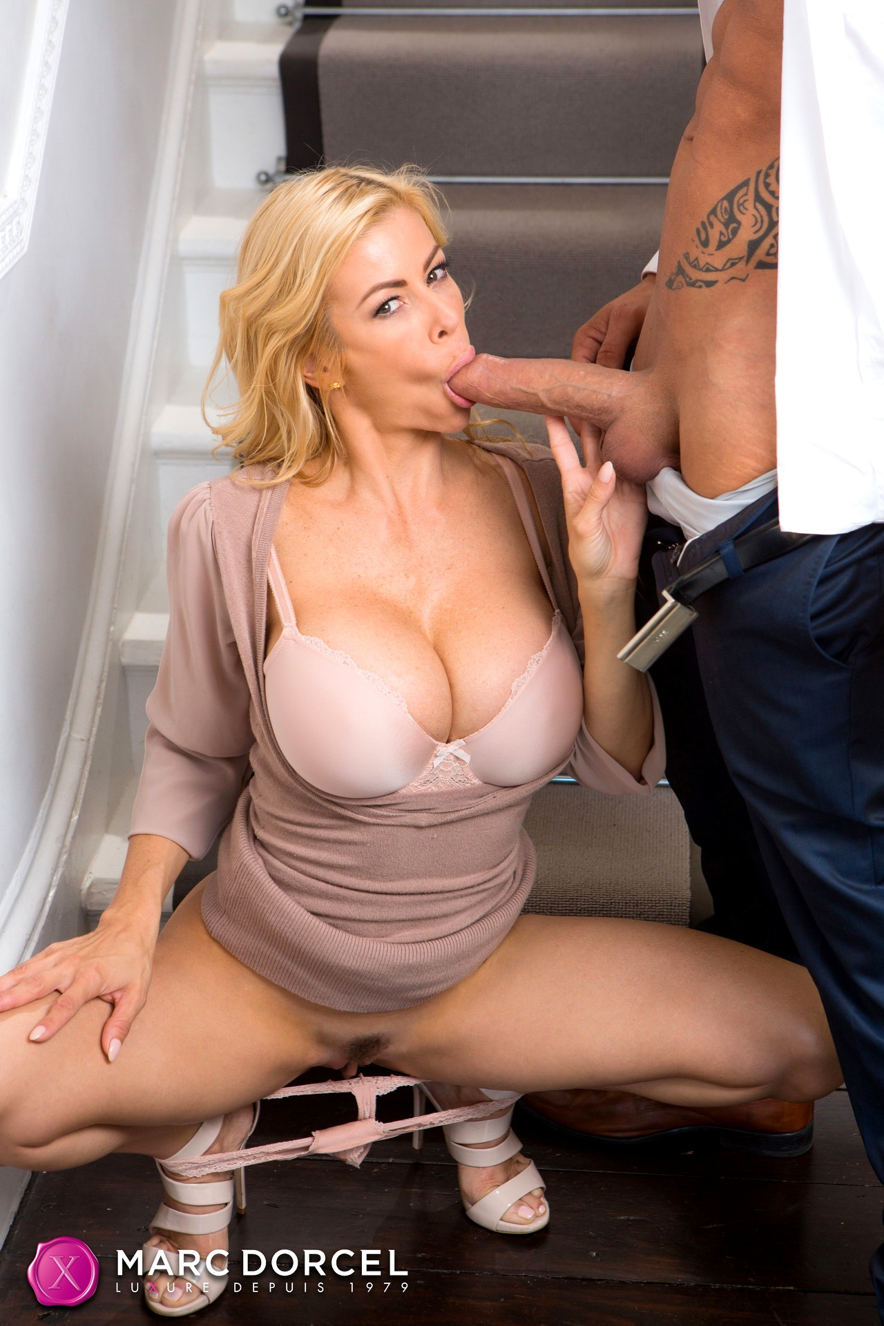 On Her Knees Porn