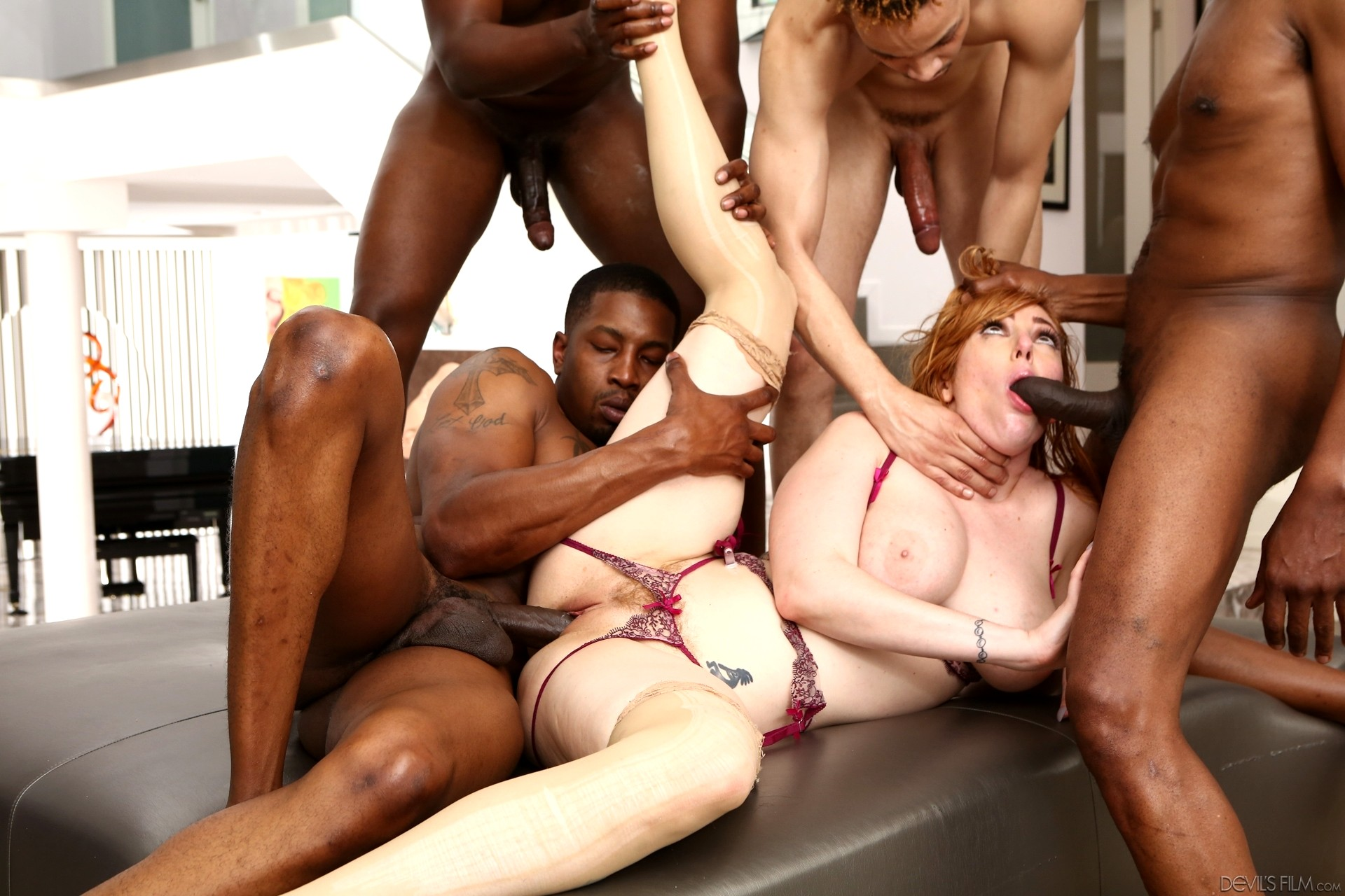 Lauren phillips interracial gangbang 5