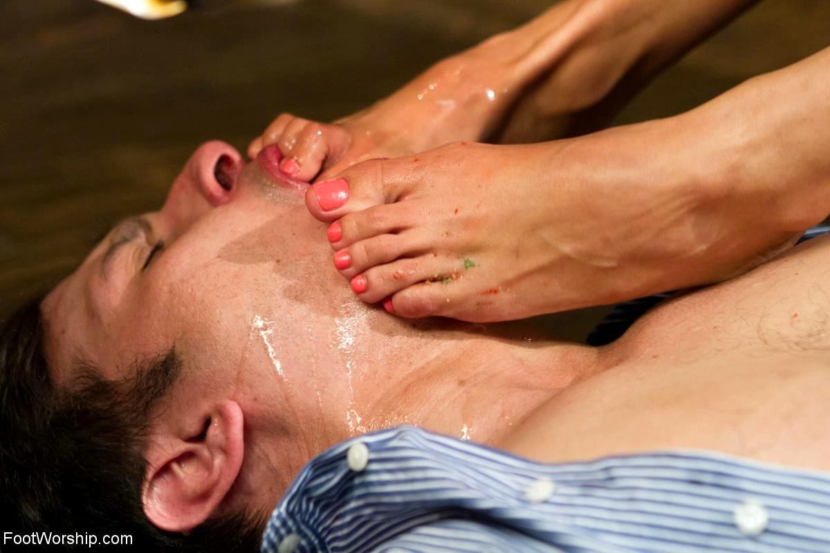 Babe Today Foot Worship Anthony Rosano Anissa Kate -4031