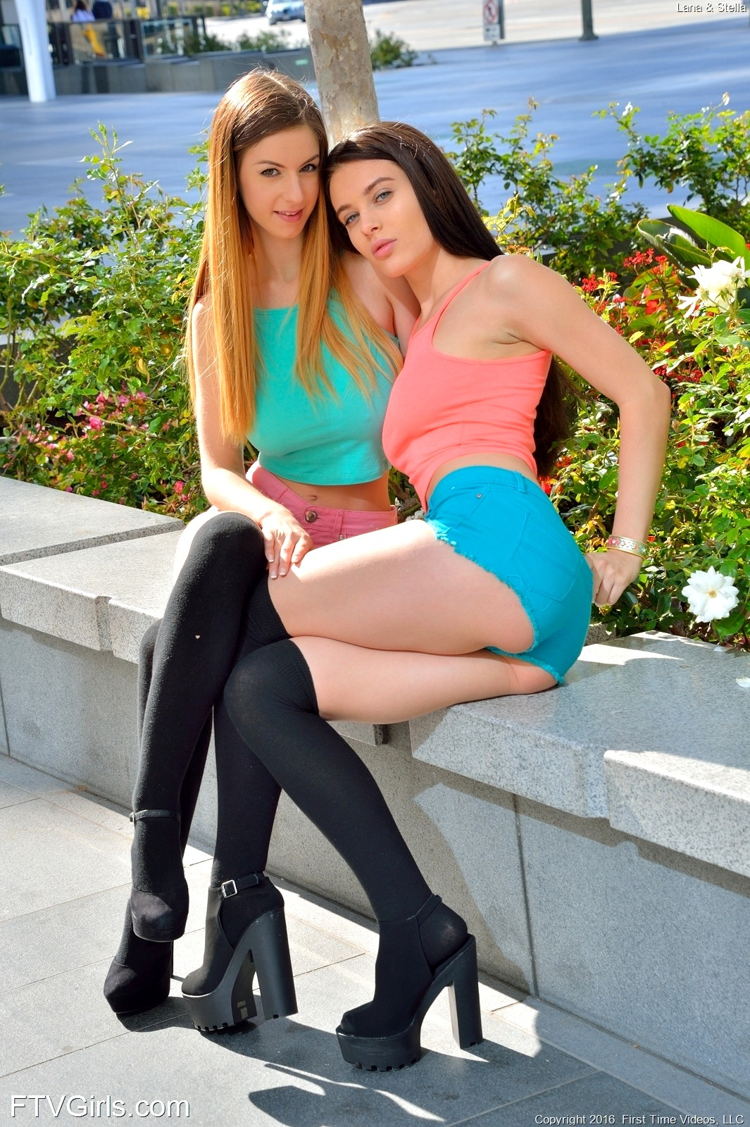 Lana rhoades with stella cox
