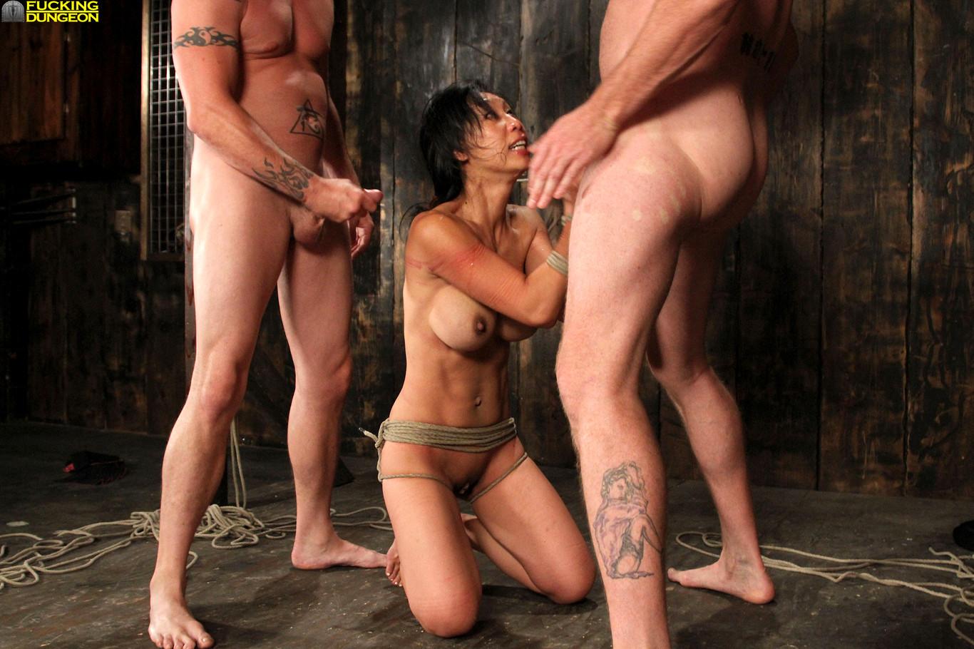 Bondage dungeon hardcore sex — photo 8