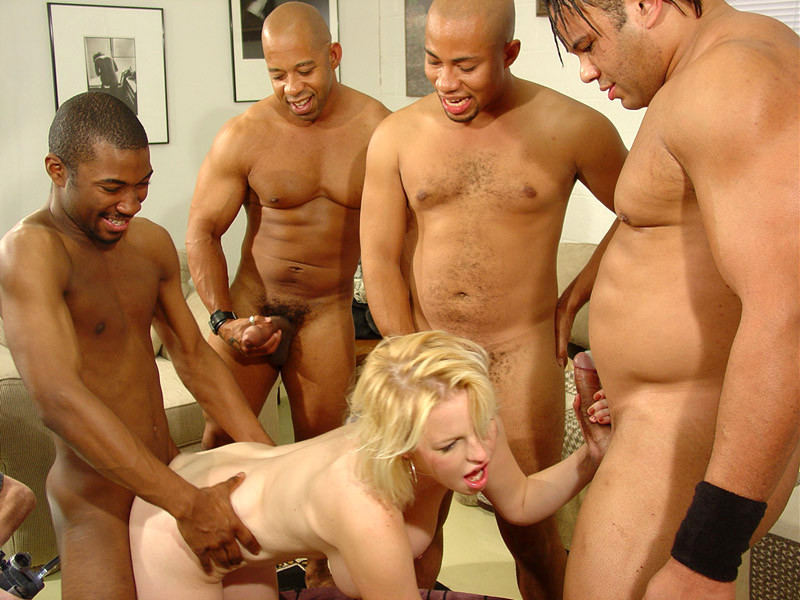 Real amateur wife gangbanged blacks