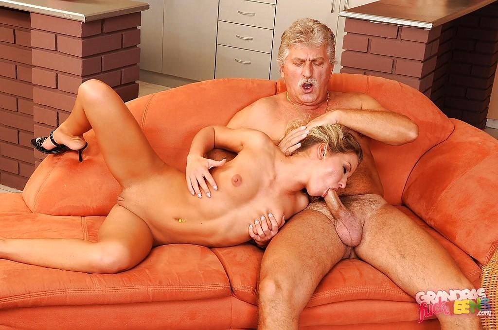 Порно видео престарелые и молодые — 5