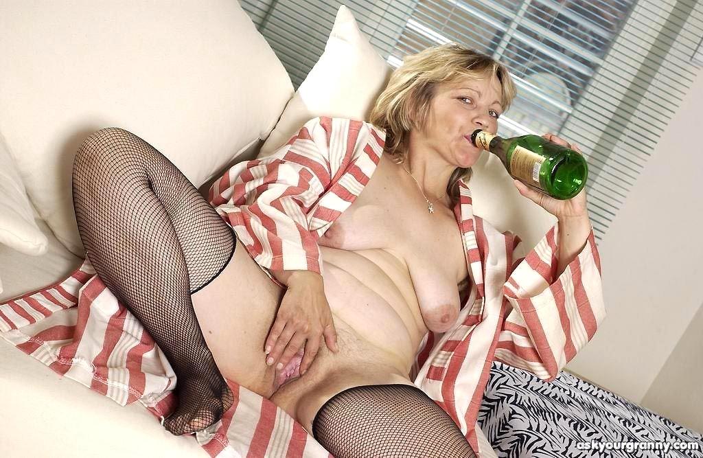 Watch Drunk Granny Olga Gets Used
