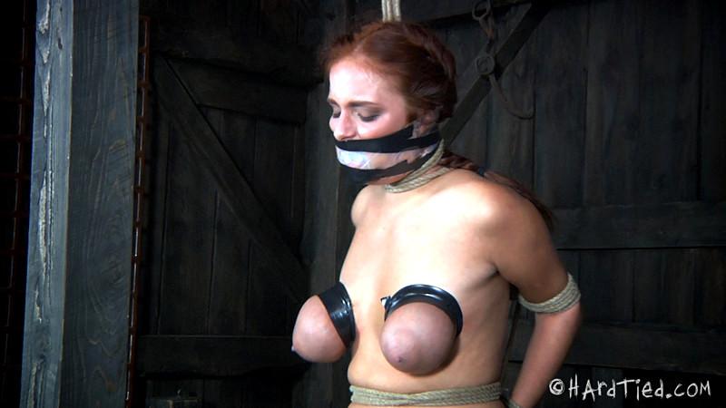 Bedroom Bondage Redhead