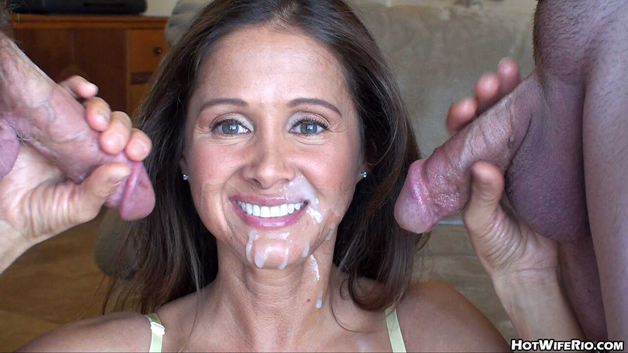 Cock Sucking Wife Giving Oral To A Big Thick Cock Pumping Out Big Loads Of Cum