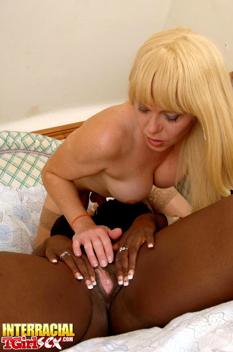 Tgirl joanna jet interracial