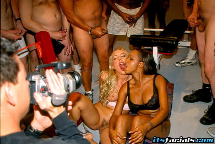 Asian girl making her nipples erect