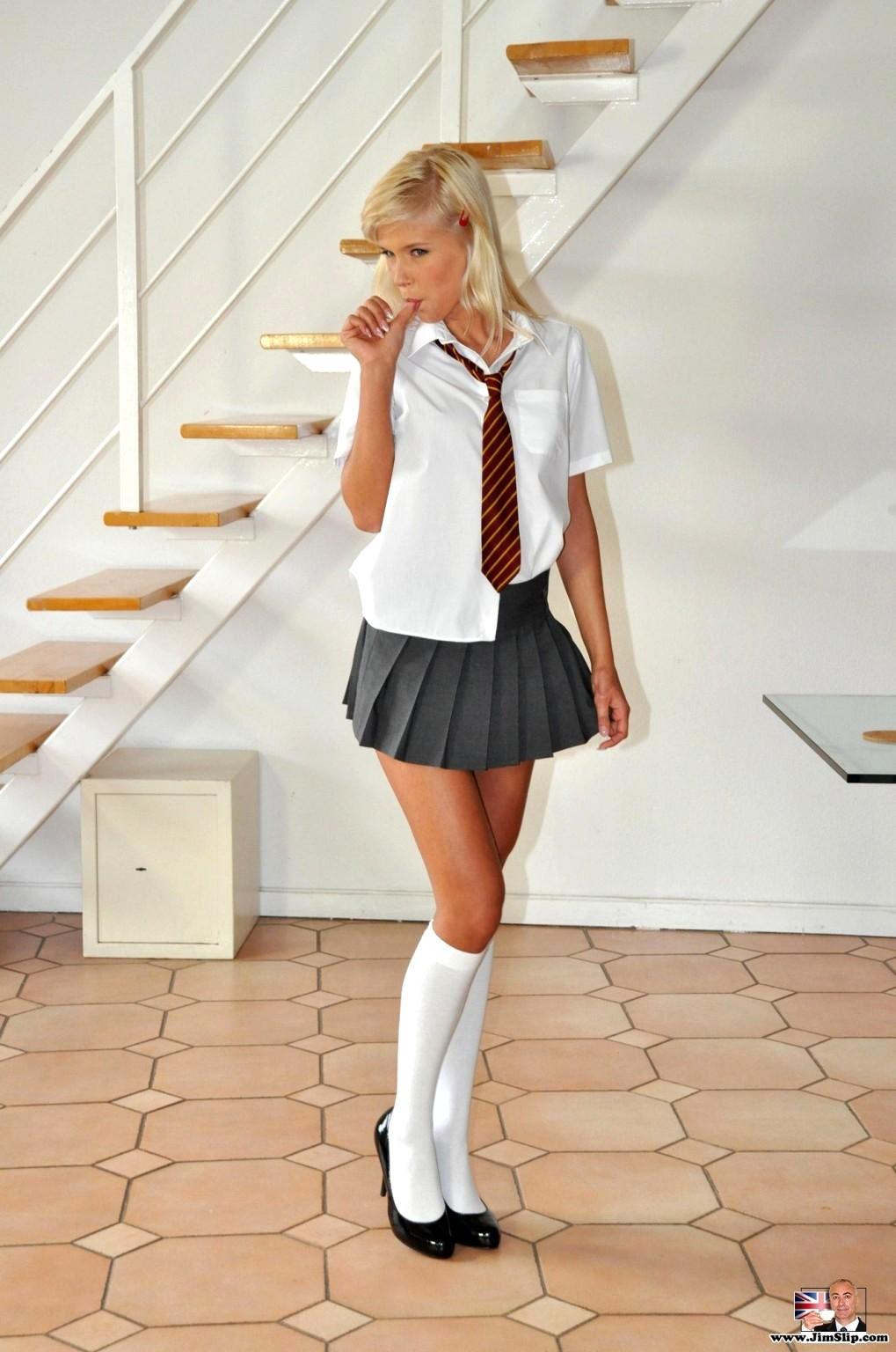 Babe Today Jim Slip Jimslip Model Recommend Skirt