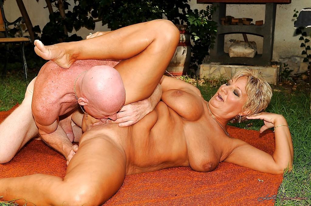 Big Tits Mature Blond