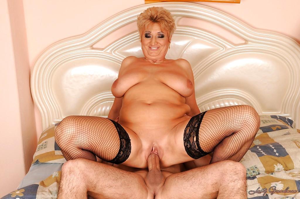 Lusty grandma big boobs that would
