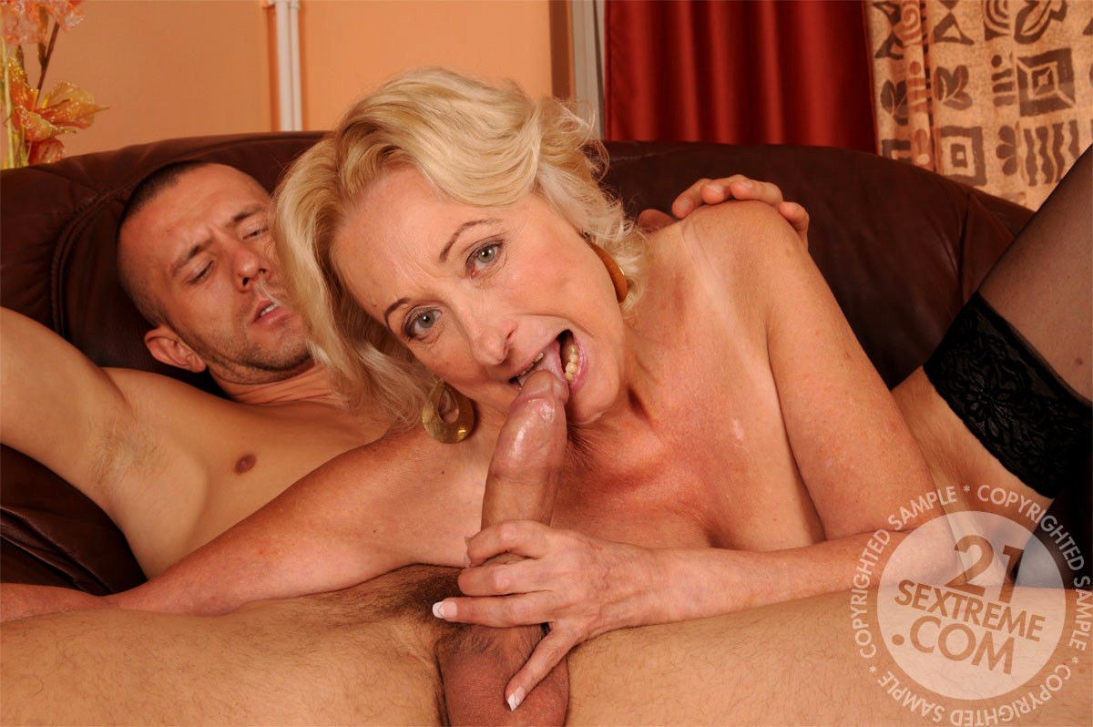 Lovely mommy riding cock sweet touching stepson