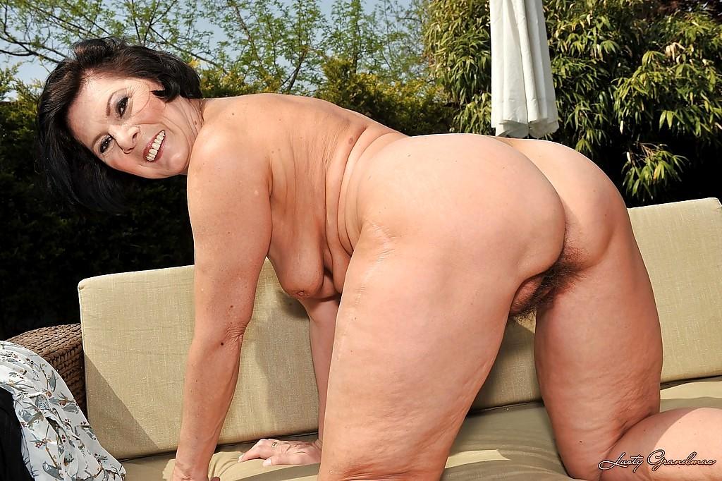 grandma Nude fuck lusty
