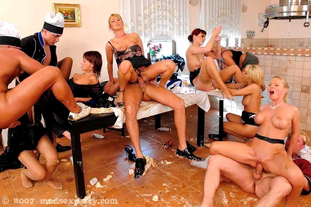 Insane sex parties