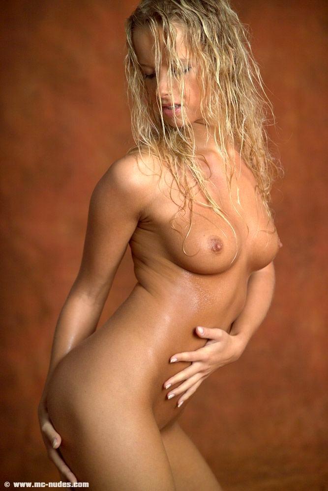 Blonde Female Nude