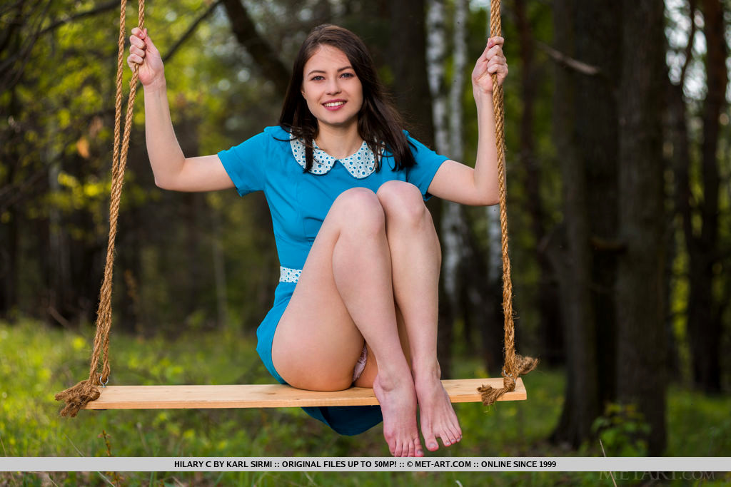 from Sylas nude women on a swing set