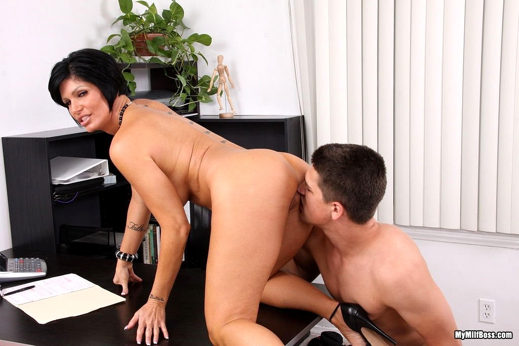 Judy fook is a milf boss who fucks her employees