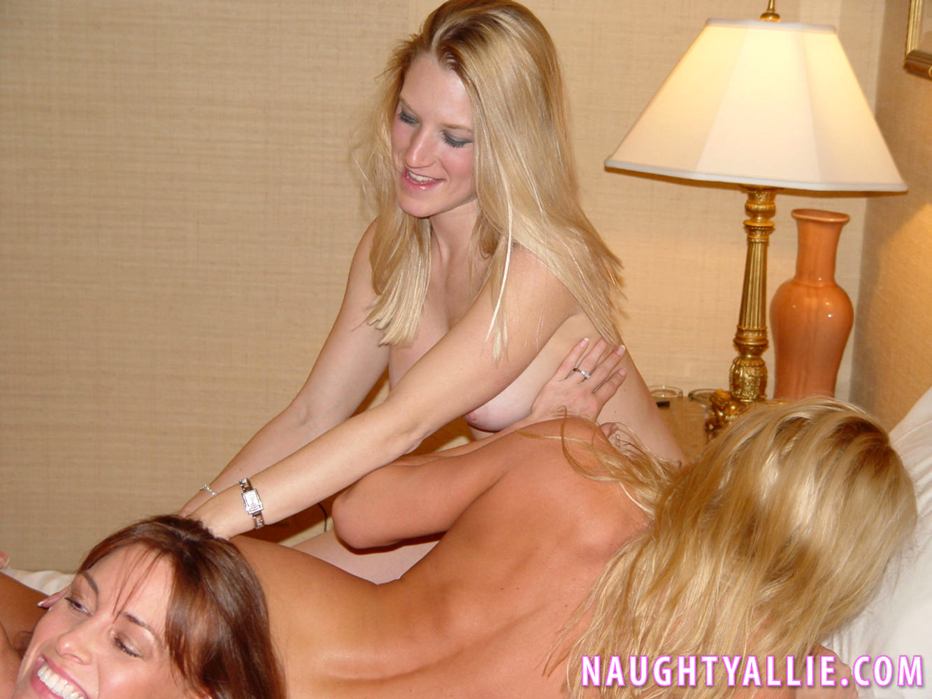 naughty allie sex party