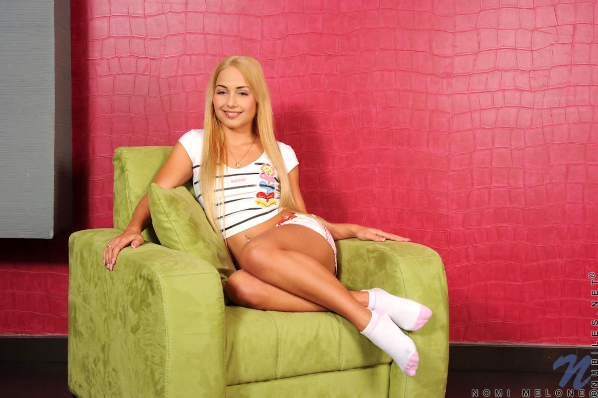 Babe Today Nubiles Nomi Melone April Underwear Beauty Porn