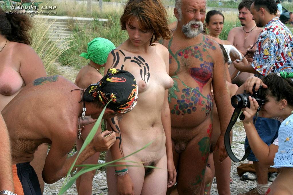 Big italian bush nudes