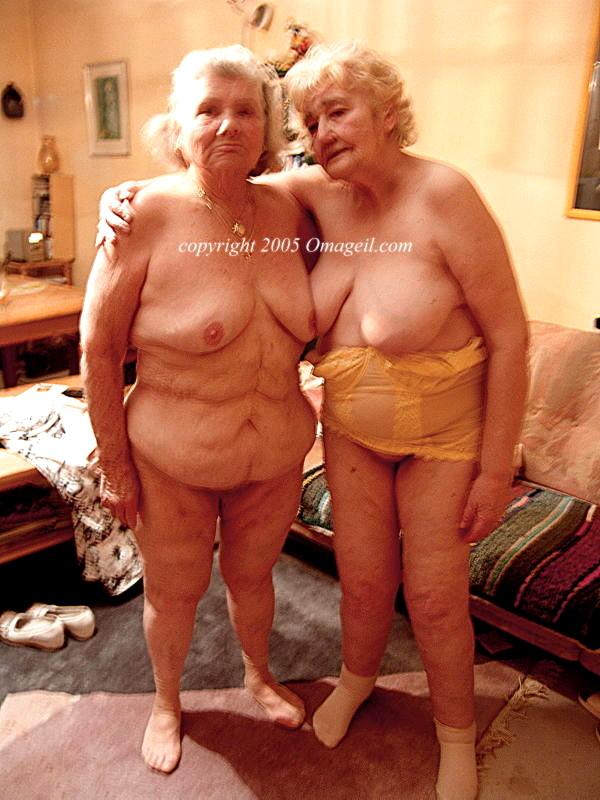 Lesbian grannies porn are
