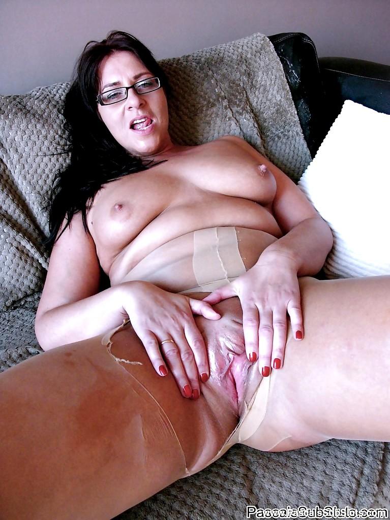 Pantyhose Sex Amber 4