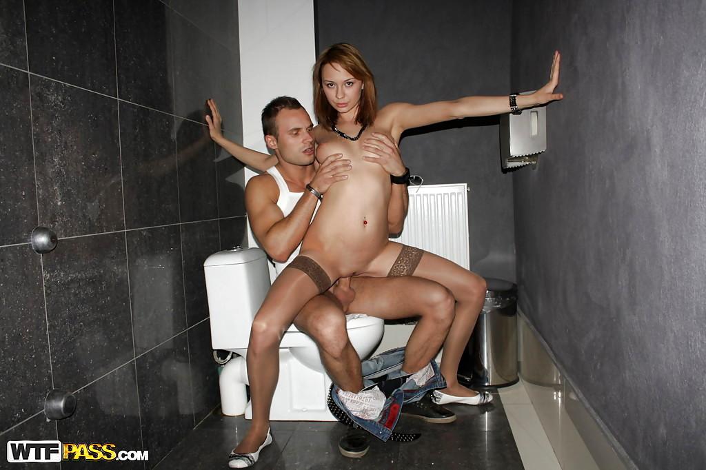 Club toilet porn galery pics