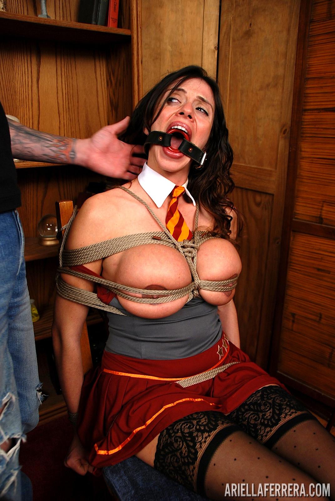 Ferrera bondage ariella Ariella Ferrera